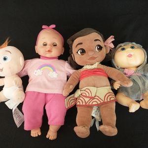 Baby Doll, Jack Jack, Moana, Cabbage Patch
